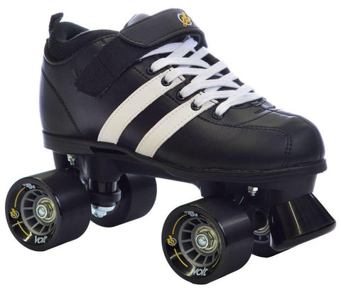 Volt Medium Roller Derby Skates UK6 , Black