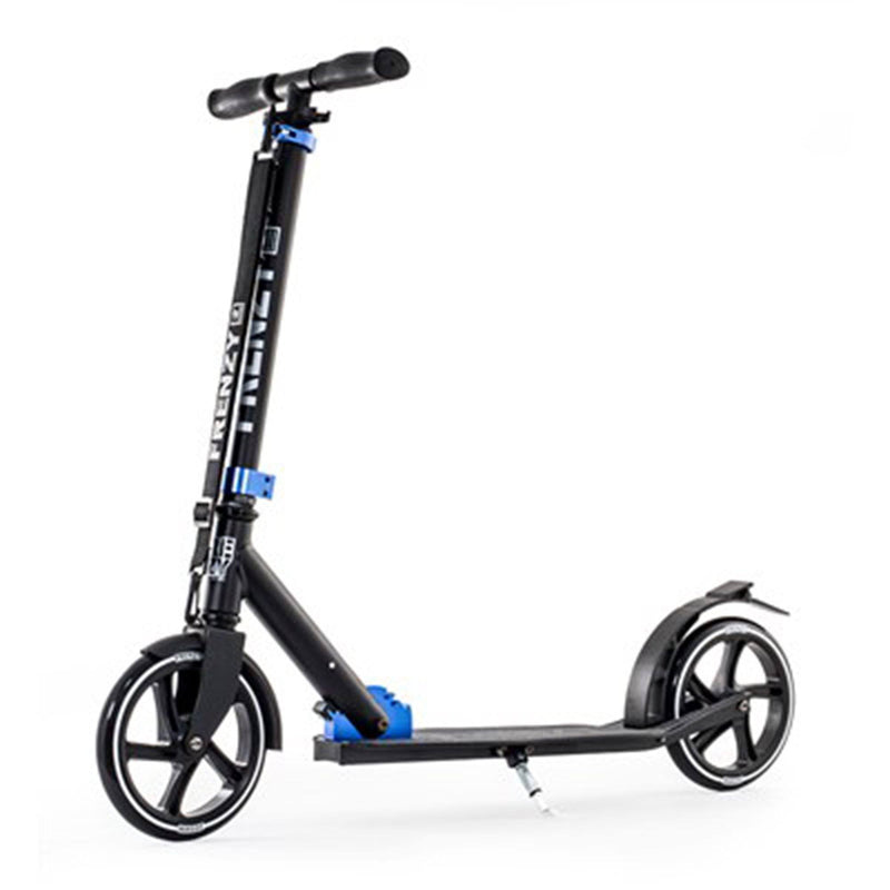 Frenzy Scooters 205mm Kids Recreational Scooter, Black Stunt Scooter Frenzy Scooters