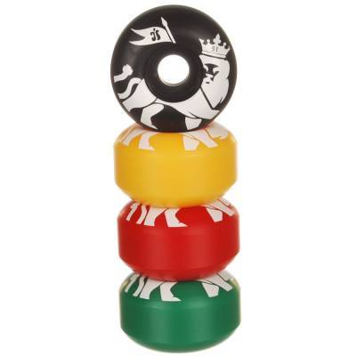 Hubba Wheels Rasta Riders 51mm Skateboard vendor-unknown