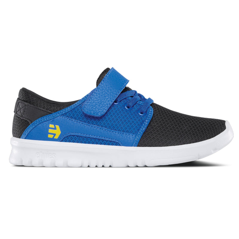 Etnies Kids Scout V, Black/Blue Kids Etnies UK6