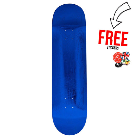 Primitive Skateboards Nick Tucker Foil 8.125, Blue