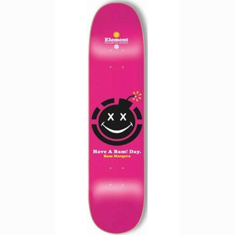 Element Skateboard Deck Bam Margera Have A Bad Day 8.25