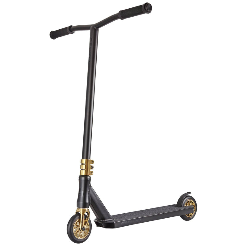 Chilli Scooters Crown Reaper Complete Stunt Scooter, Black/Gold Stunt Scooter Chilli Pro