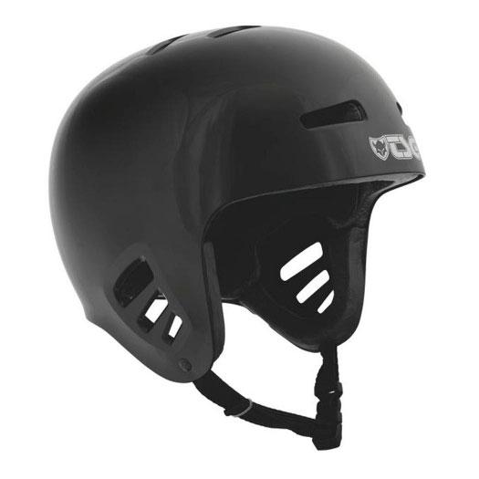 TSG Full Cut Dawn Helmet, Black Protection TSG Large-XLarge