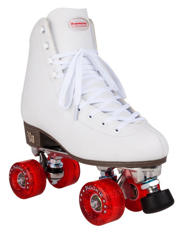 Rookie Quad Roller Skates Classic II - White Kids Skates Rookie UK4/US5/EU37