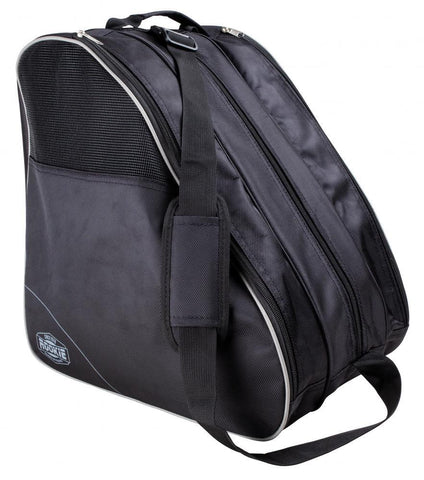 Rookie Bag Compartmental Skate Boot Bag, Black/Grey