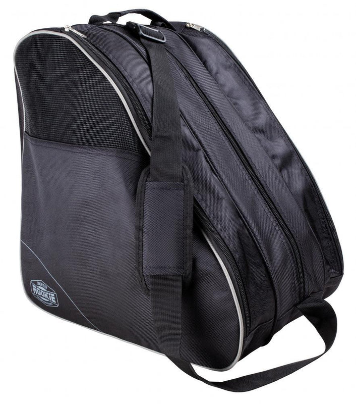 Rookie Bag Compartmental Skate Boot Bag, Black/Grey Backpack Rookie