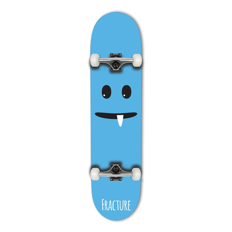 Fracture Skateboards Lil Monsters Complete skateboard 7.75 - Blue Complete Skateboards Fracture