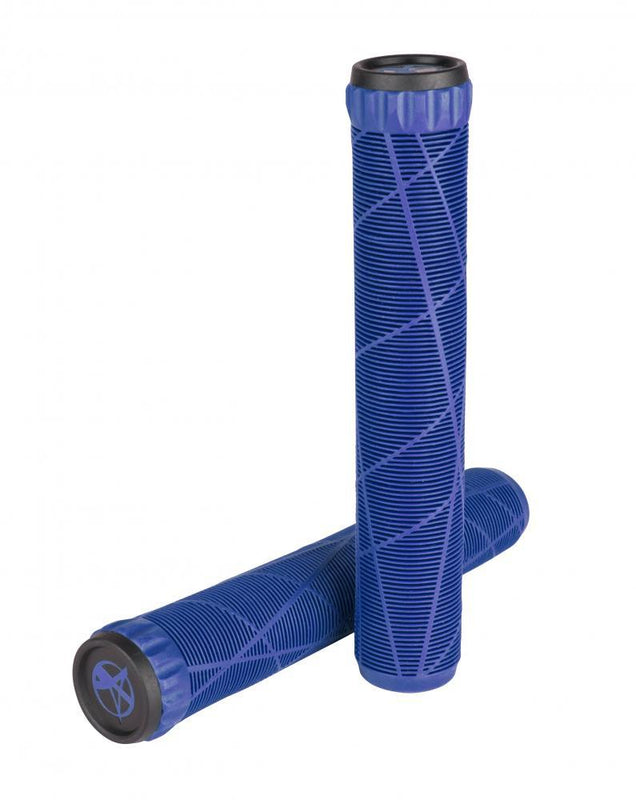 Addict Scooters OG Stunt Scooter Grips, Blue Grips Addict