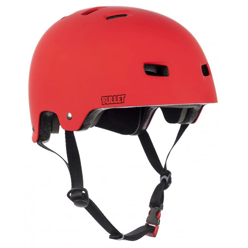 Bullet Protection Deluxe Helmet, Matte Red