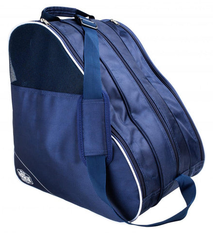Rookie Bag Compartmental Skate Boot Bag, Navy Blue/ White