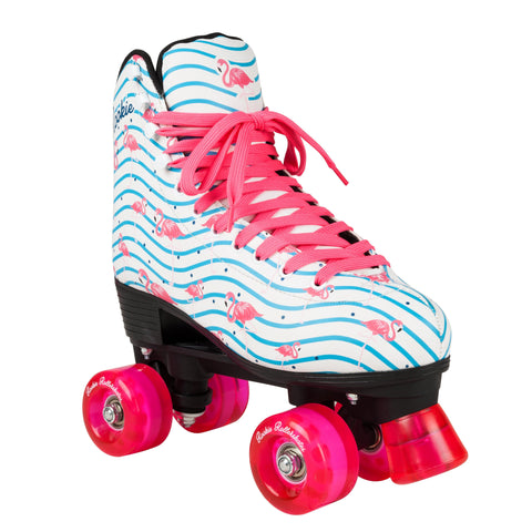 Rookie Famingo Quad Roller Skates - White/Multi
