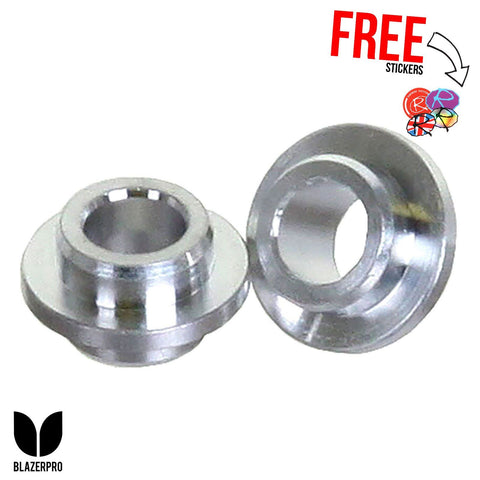 Blazer Pro Floating Scooter & Skate Wheel Spacers 10MM, (x2)
