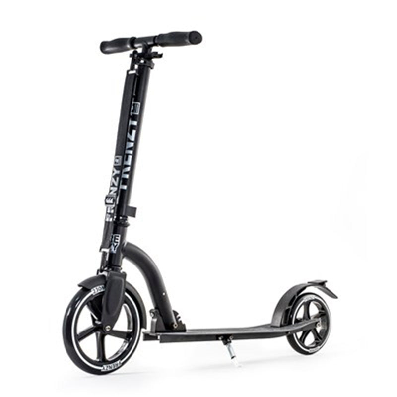 Frenzy Scooters 230mm Folding Scooter, Black Stunt Scooter Frenzy Scooters