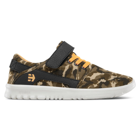Etnies Kids Scout V, Brown/Camo
