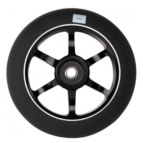 Logix Scooters 6 Spoke Stunt Scooter Wheel, Black