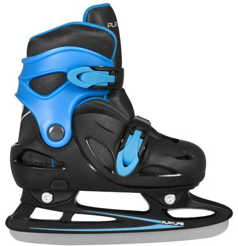 Playlife Kids Adjustable Ice Skates Cyclone - Blue
