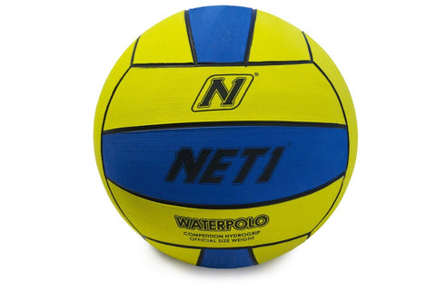 NET1 Water Polo Competition Ball Size 5 - Yellow/Blue