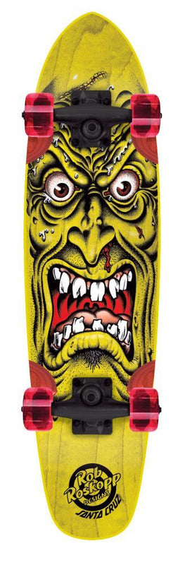 Santa Cruz Complete Longboard Sidewalk Screamer Rob Face Skateboard Santa Cruz