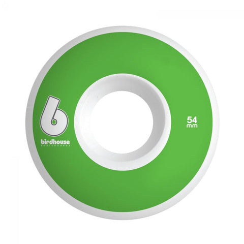 Birdhouse Skateboard Wheels B Logo Green 54 MM