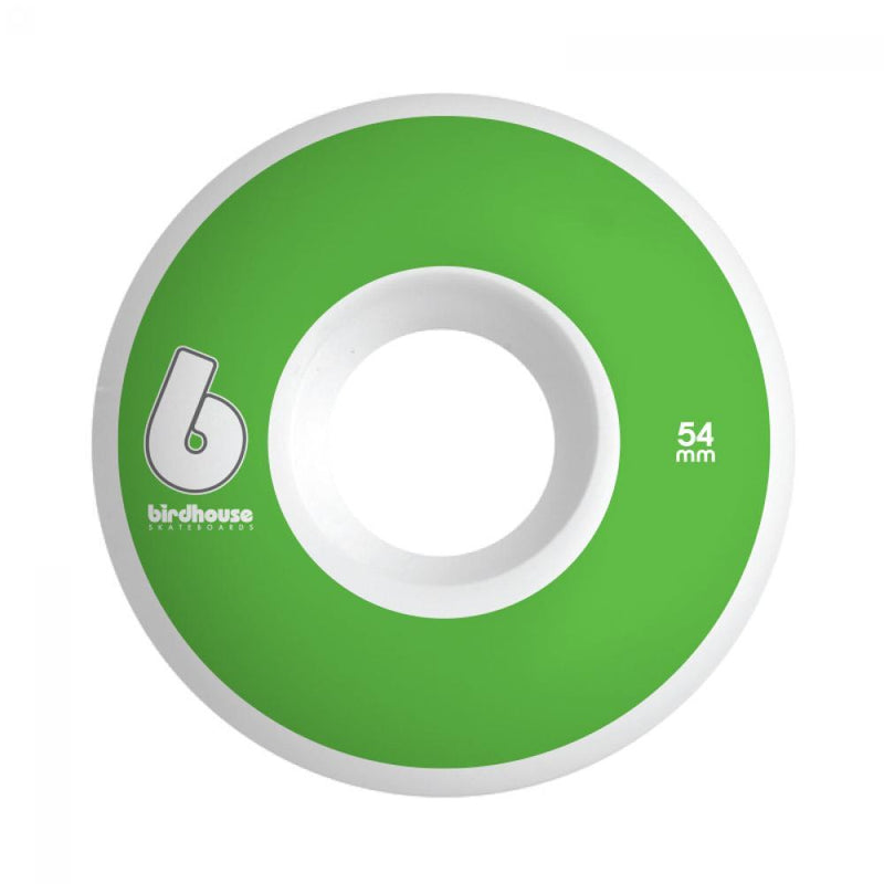 Birdhouse Skateboard Wheels B Logo Green 54 MM Skateboard Birdhouse