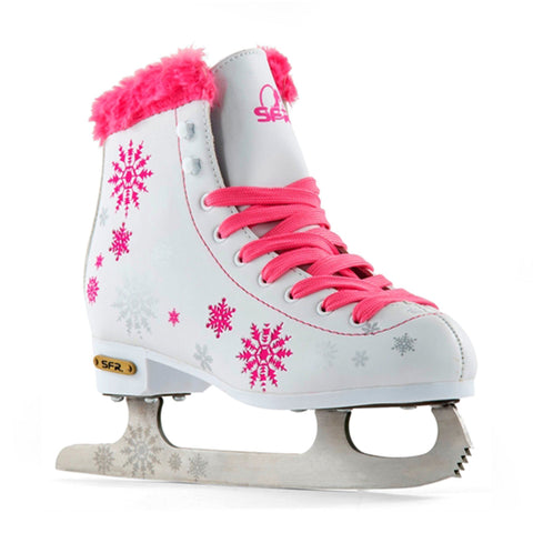 SFR Snowflake Kids Ice Figure Skates (Sizes Jnr11 - 5) - Dancing on Ice