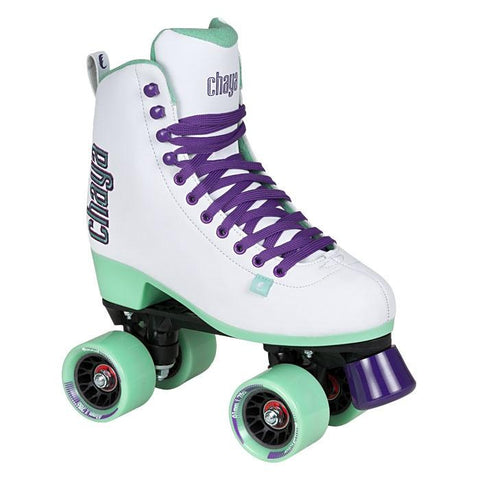 Chaya Skates Lifestyle Melrose Skates White UK7 EX DISPLAY WITH BOX
