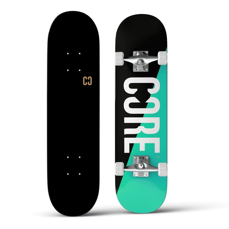 CORE Complete Skateboard C2 Split - Teal/Black 7.75 Skateboard CORE