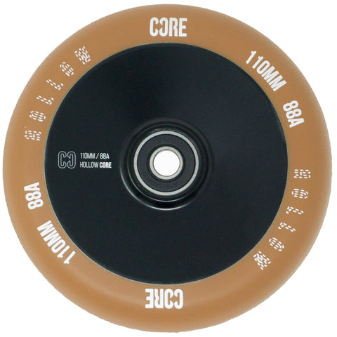 CORE Hollow Stunt Scooter Wheel V2 110mm - Gum/Black