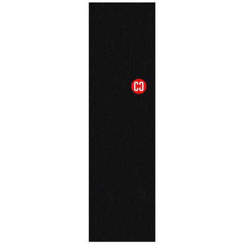 CORE Skateboard Griptape, Red Stamp