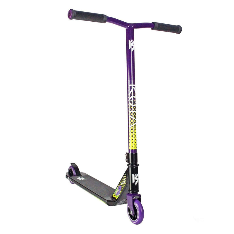 KOTA Scooters Ninja Complete Stunt Scooter, Purple/Black Stunt Scooter KOTA
