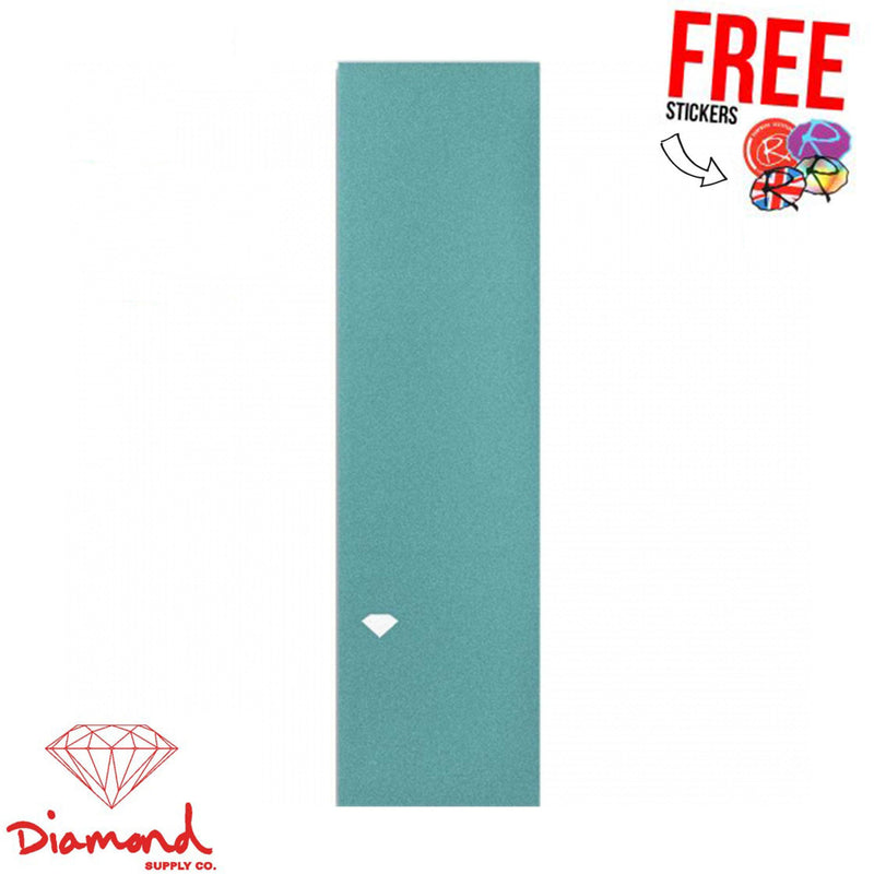 Diamond Supply Co. Skateboard Griptape, Diamond Blue Stunt Scooter Diamond Supply Co