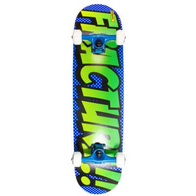 Fracture Skateboards OG Comic Complete 7.75, Blue