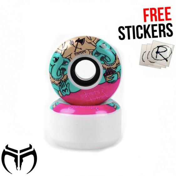 Muckefuck Advaita Skateboard Wheels 55mm Skateboard MuckeFuck