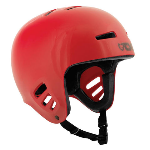 TSG Full Cut Dawn Helmet, Red