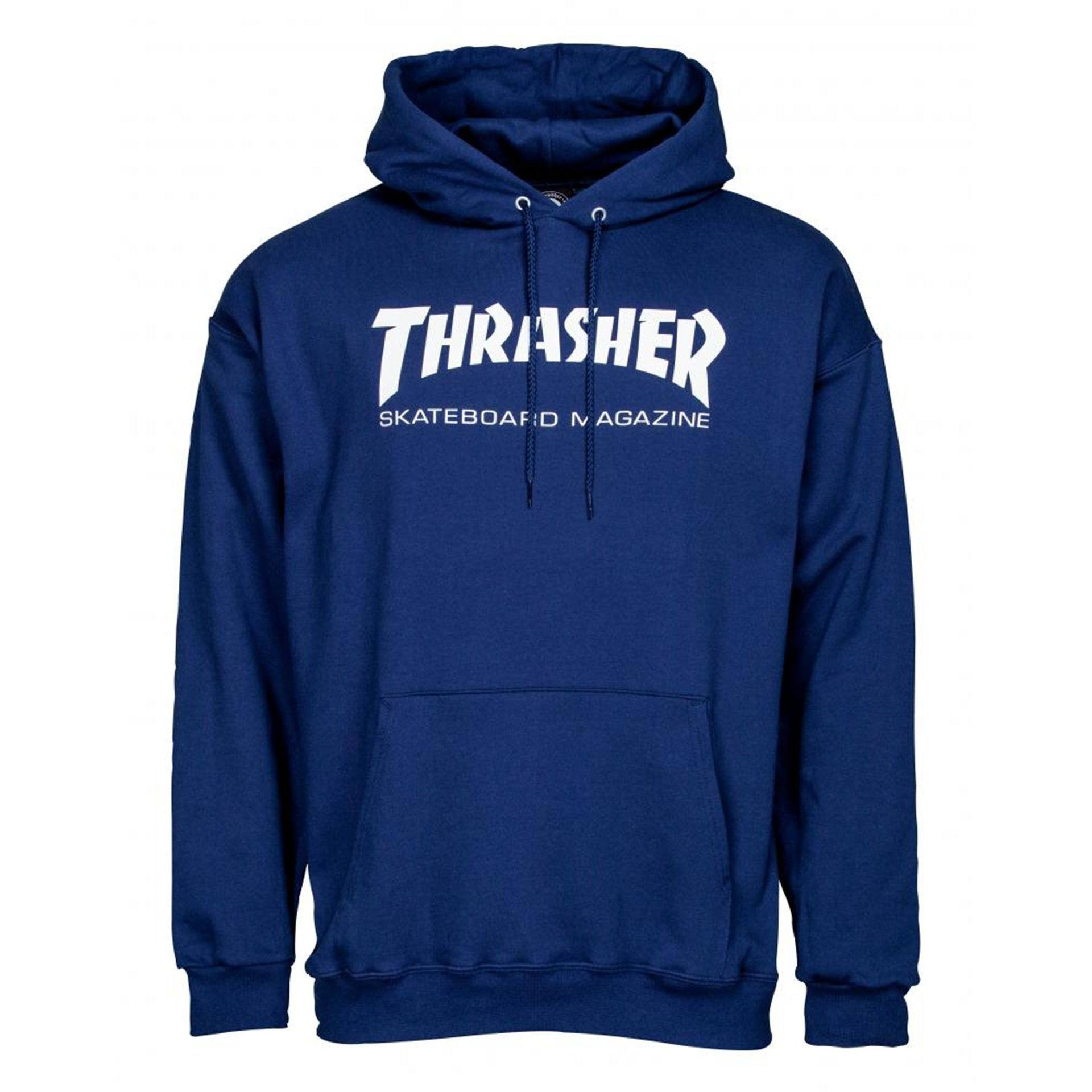 22be3c066ea9 Thrasher Skateboard Magazine Hoodie, Navy – Rampworx Shop