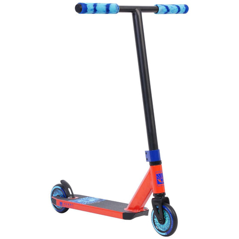 Invert Supreme Mini Complete Stunt Scooter, Red, Black, Blue