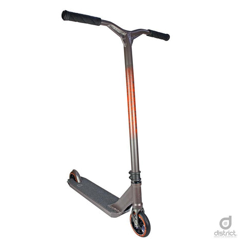 District HTS Complete Scooter - Titanium Grey