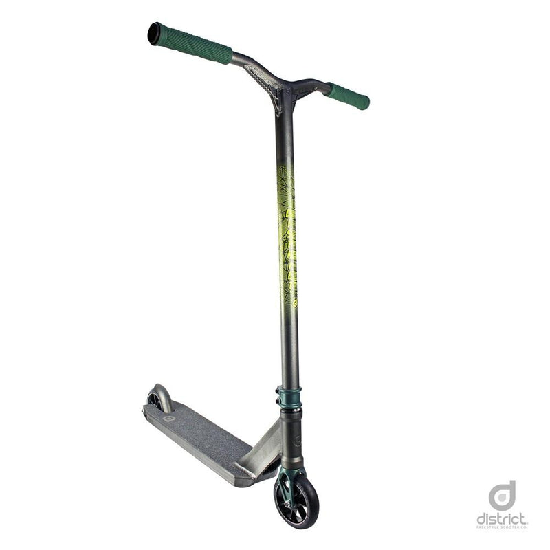District HTS Complete Scooter - Pearl Black