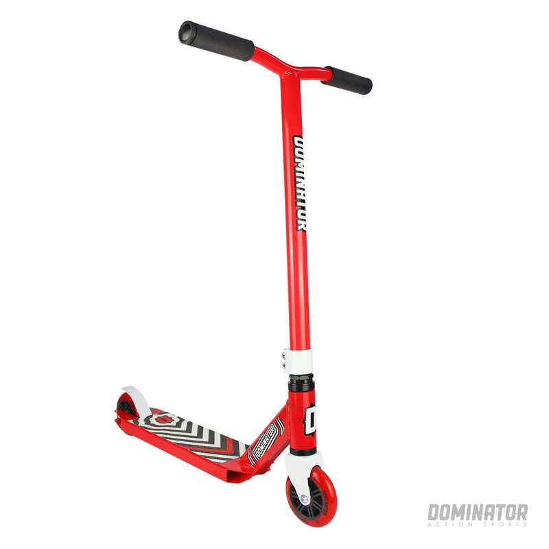 Dominator Scout Complete Scooter - Red / Red