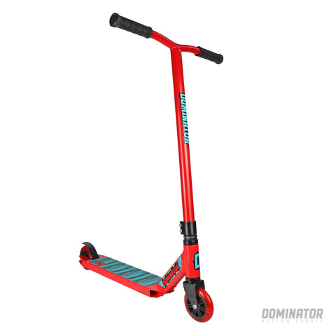 Dominator Cadet Complete Scooter - Red / Red