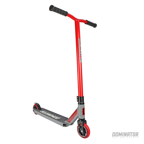 Dominator Ranger Complete Scooter - Red / Grey