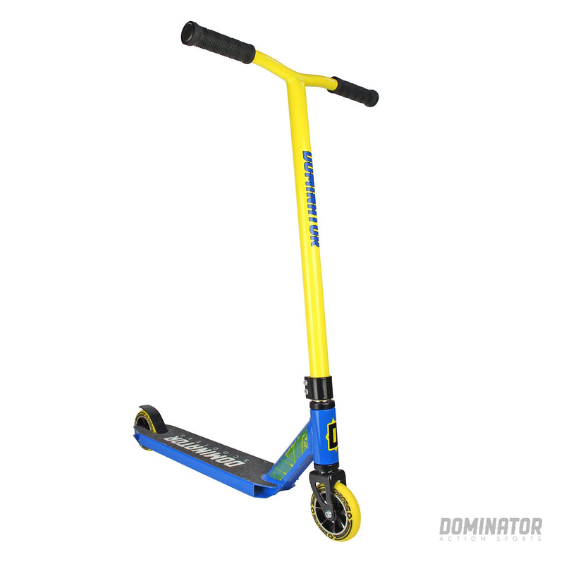Dominator Ranger Complete Scooter - Yellow / Blue Complete Scooter Dominator