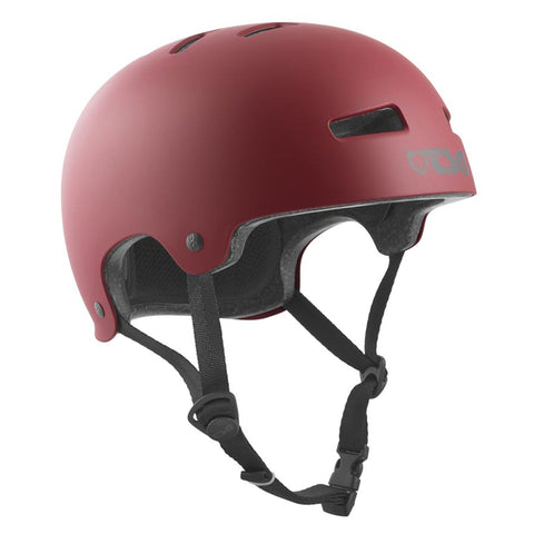 TSG Protection Evolution Skate/BMX Helmet, Oxblood