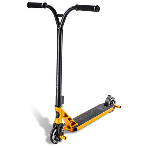 Slamm Scooter Urban VII Extreme Complete Stunt Scooter, Gold