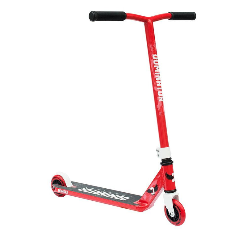 Dominator Scooters 2017 Bomber - Red/White Stunt Scooter Dominator