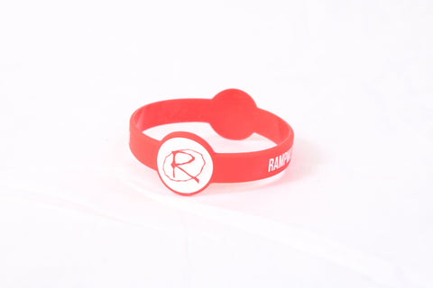 Rampworx Rubber Wristband, Red