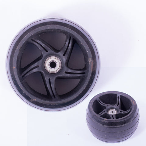 Micro Scooters Monster 120mm Scooter Wheel, Black