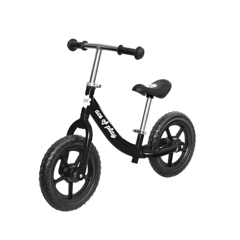 Ace Of Play Childrens Balance Bike, Black