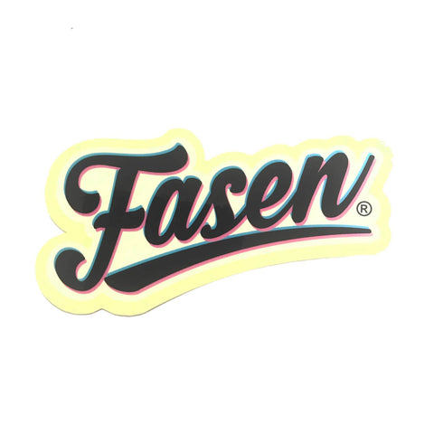 Fasen Scooters Script Sticker